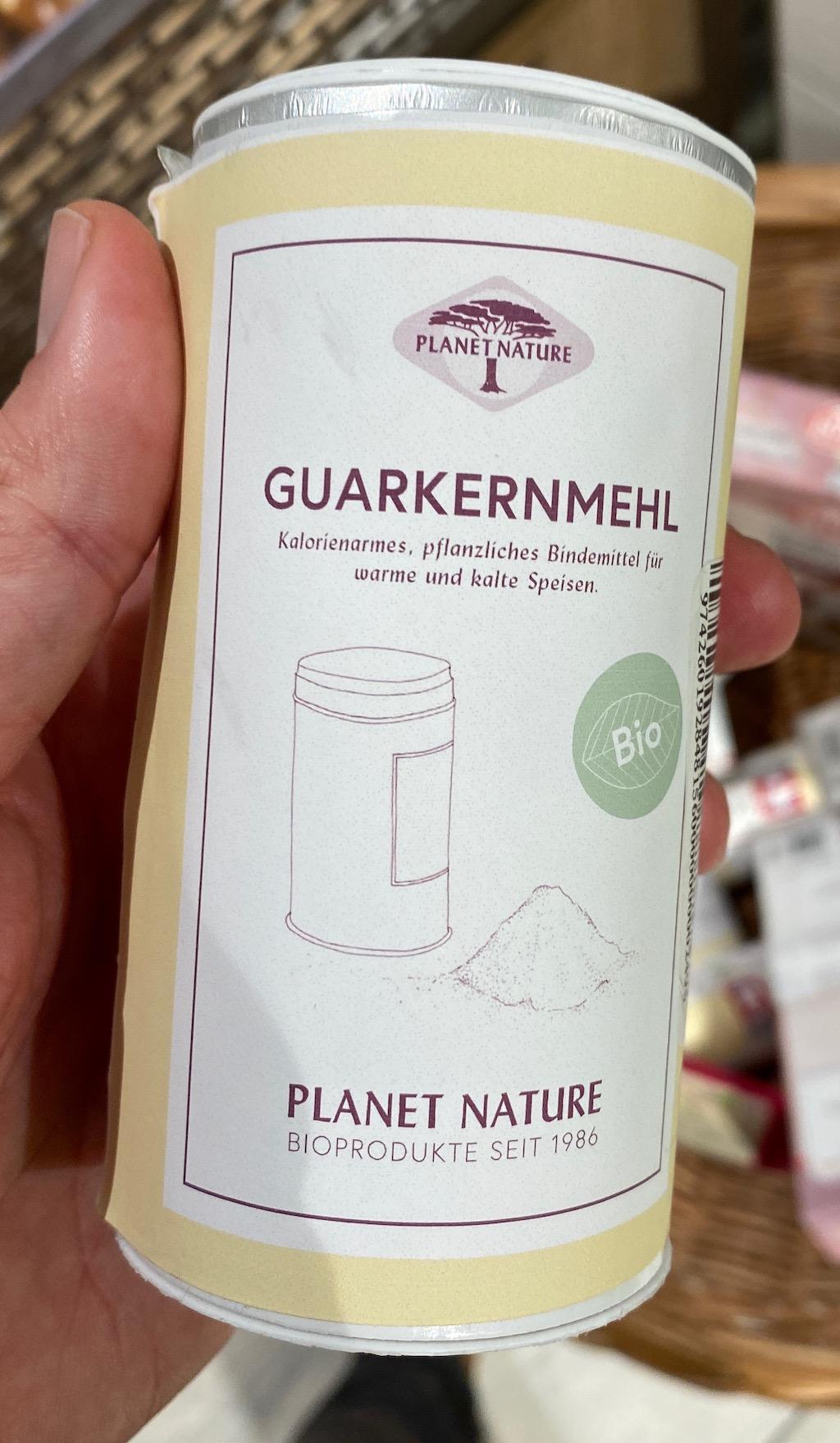 Planet Nature Bio Guarkernmehl Planet Nature