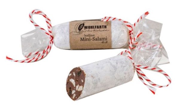 Wolhfarth Berliner Mini-Salami Schokolade