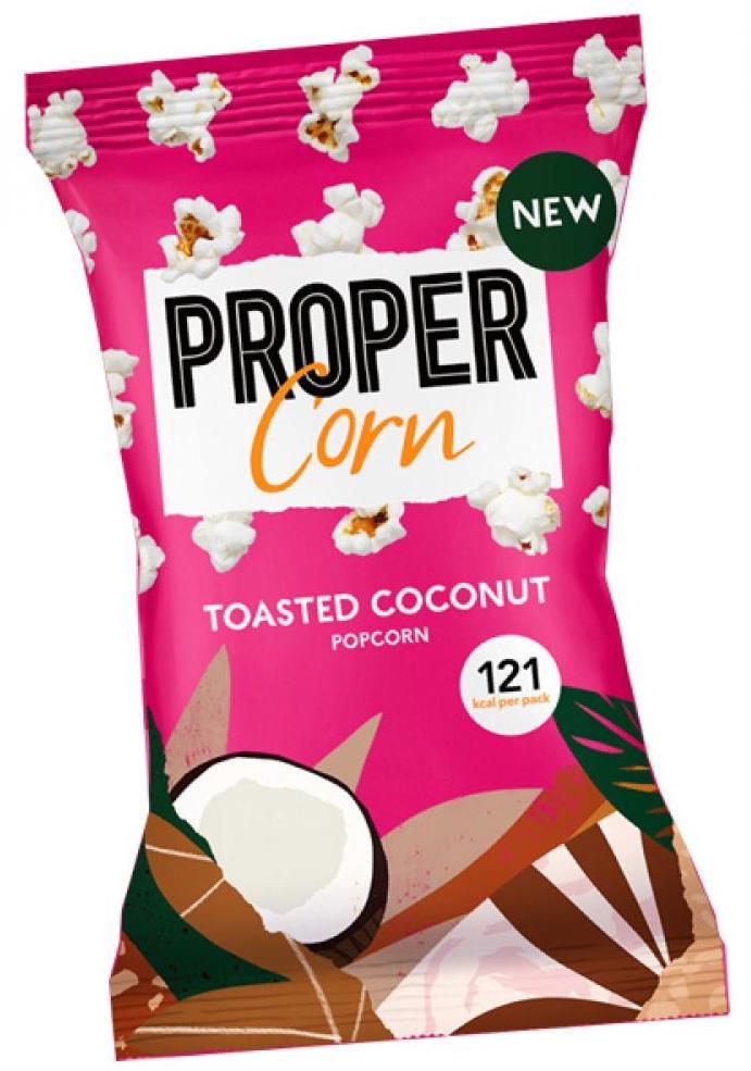 Propercorn Toasted Coconut Popcorn 25g
