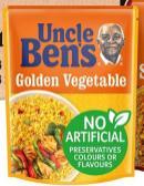 Mars Uncle Ben's Golden Vegetable, Mixed Rice, 250 Gramm