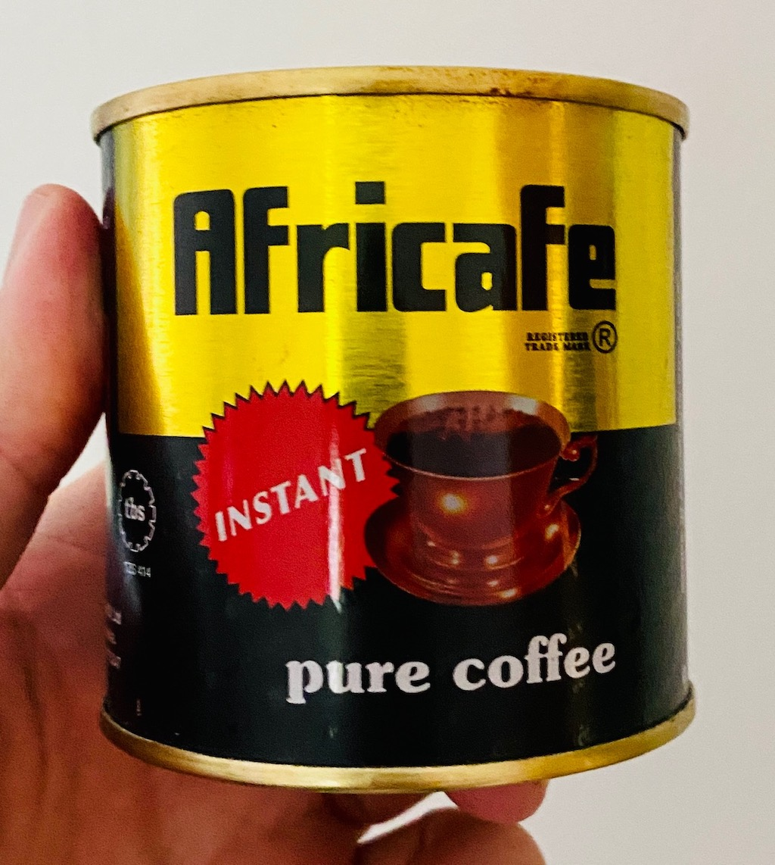 Africafé pure coffee instant Tansania löslicher Kaffee Dose