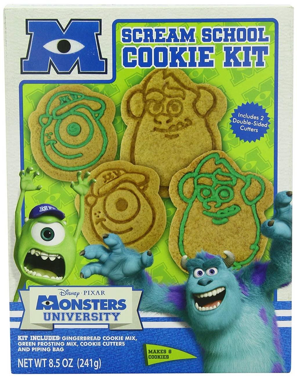 Disney Pixar Monsters University Scream School Cookie Kit Backmischung Halloween