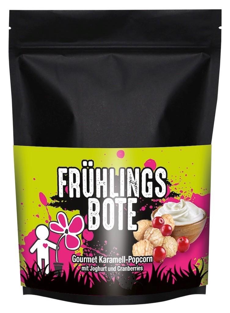 Frühlingsbote Gourmet Karamell-Popcorn mit Joghurt und Cranberries Popcorn