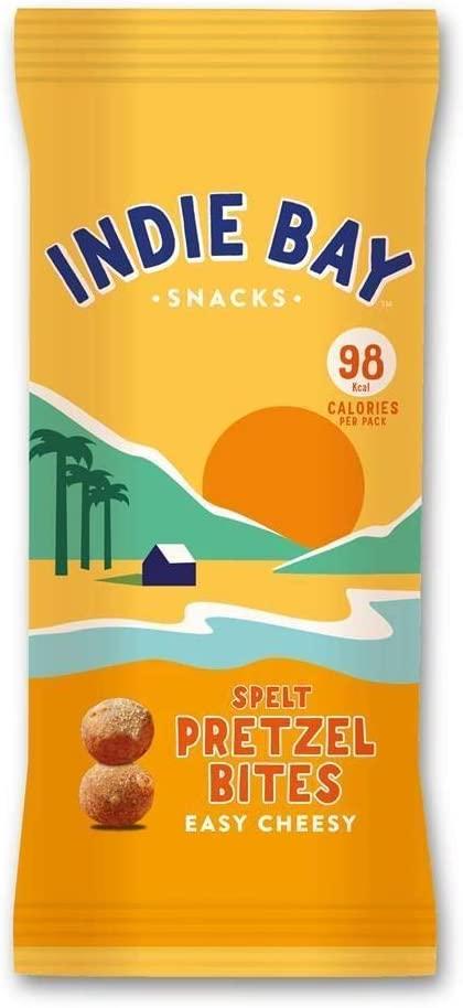 Indie Bay Snacks Spelt Pretzel Bites Easy Cheesy