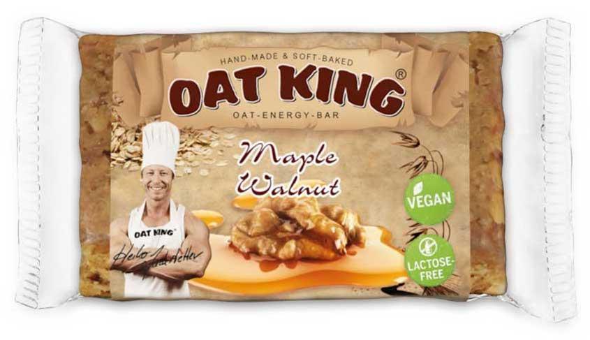 Oat King Maple Walnut Oat Energy Bar Vegan Lactosefrei 95g