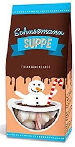 Schneemmann Suppe Marshmallow