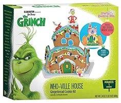 The Grinch Who-Ville House Lebkuchenhaus 680G