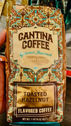 Cantina Coffee Gourmet flavored Ground Coffee Toasted Hazelnut 453G