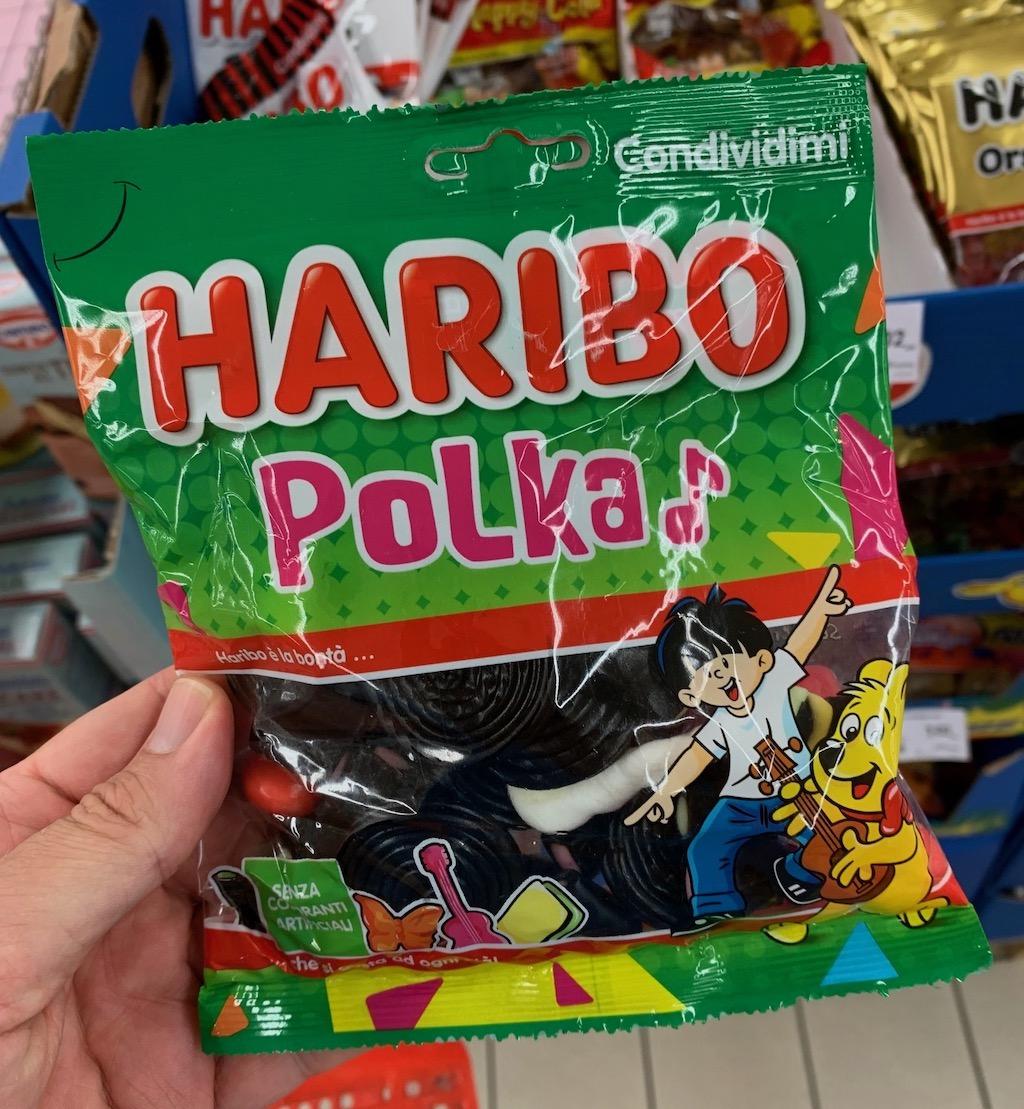 Haribo Polka Italien