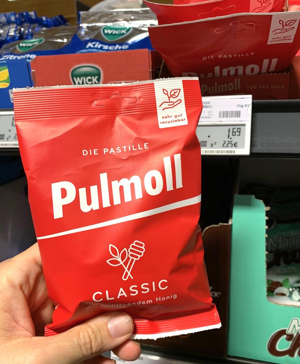 Pulmoll Classic im Beutel statt in der Dose