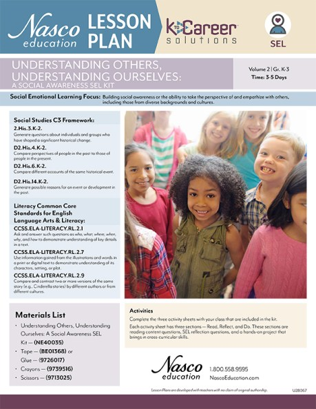Undertanding Others, Understanding Ourselves: A Social Awareness SEL Kit - Lesson Plan Volume 2