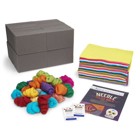 Needle Felted Mola Classroom Kit with Lesson Plan
