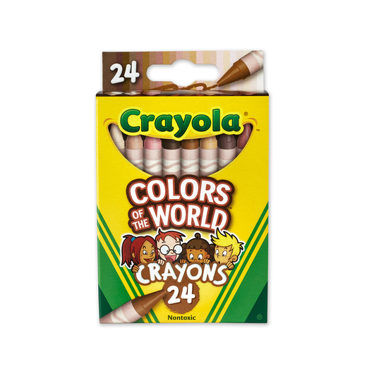 Crayola® Colors of the World Skin Tone Crayon Set