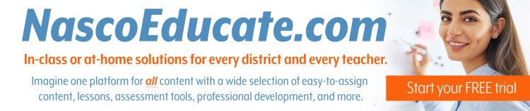 Explore the benefits of NascoEducate.com and start your free trial now!