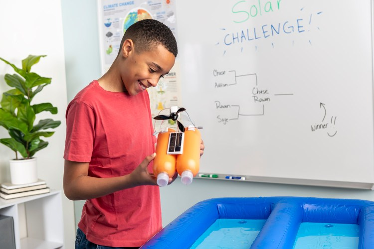 Projects that involve hands-on learning, like the Solar Boat, can help reinvigorate student learning.