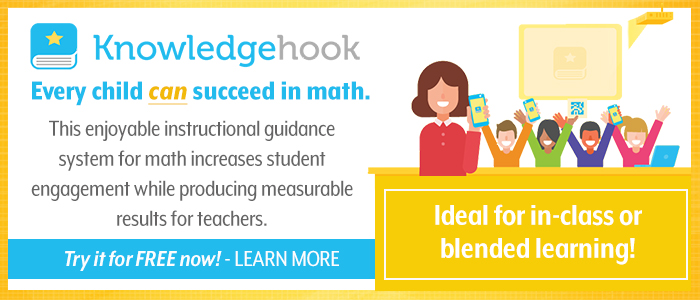 Knowledgehook is math software specifically designed to help students learn math through fun, online games.