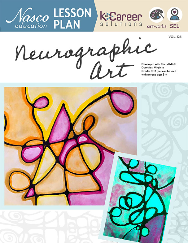Download the Neurographic Art Lesson Plan