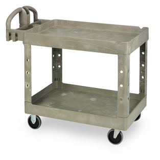 Support your art program with ESSER funds by purchasing the Rubbermaid® Heavy-Duty Utility Cart
