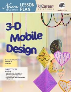 3-D Mobile Design Lesson Plan