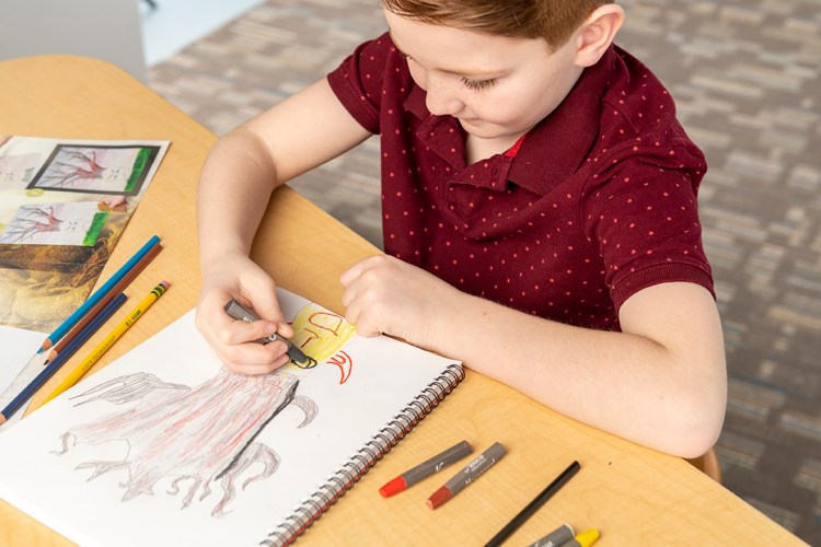 Art projects can help students build important SEL skills