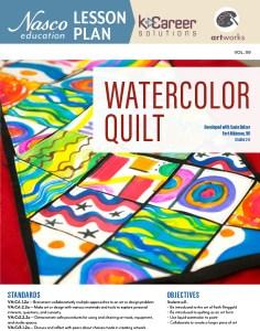 Watercolor Quilt Lesson Plan