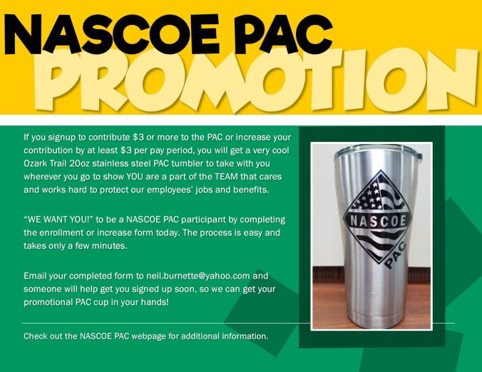 NASCOE PAC Promotion