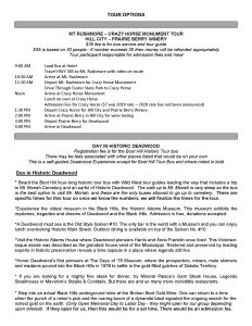 Page 2 - Tour Information for the Far West Rally