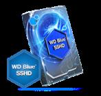 WD Blue 3.5 SSHD Inch