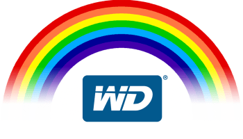 What is the difference between the WD Colours - Blue, Red