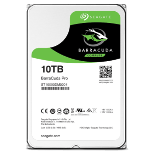 The Seagate 10tb Barracuda Pro Compute for performance and power saving