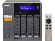 qnap ts-453a perfect plex surveillance and vm nas featuring 4k transcoding