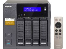 qnap ts-453a perfect plex surveillance and vm nas featuring 4k transcoding