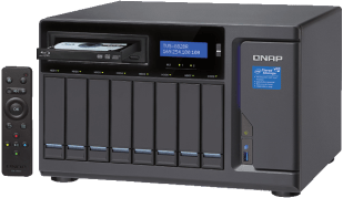 The QNAP TVS-882BR 8-Bay with i5, i7, DDR4 and 5.25 Bay for Optical Drives and more
