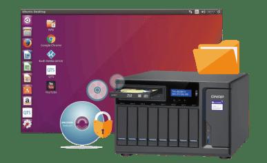 The Optical Media Optimised QNAP TVS-882BRT3 Sealed confidential information