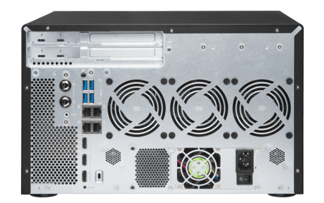 The Optical Media Optimised QNAP TVS-882BRT3 Thunderbolt 3 8-Bay NAS 14