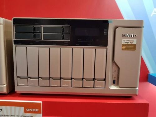 The QNAP TS-1277 12 Bay Gold Series POWERHOUSE NAS 1