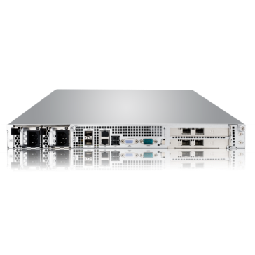 Thecus LightningPRO SE300 Flash NAS Rackmount_back