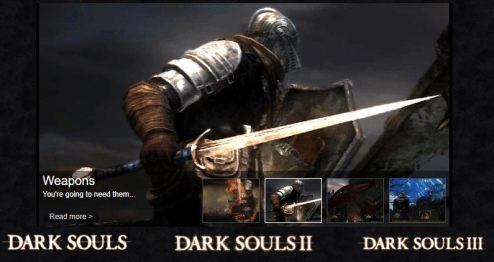 Create your own bespoke Wiki Database that lives on your NAS dark souls forum