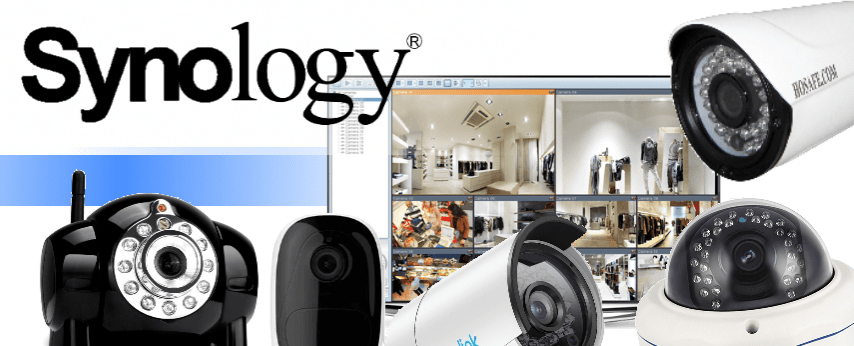 What is the Recommended IP Camera for my Synology NAS Server and