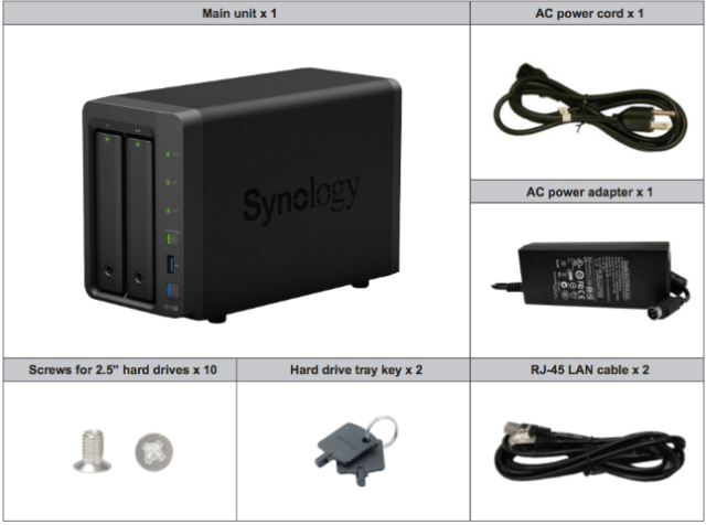 Synology DiskStation DS718+ - A Hardware Installation Guide Part 1