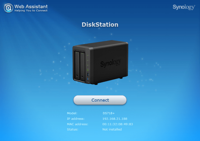 Setting up your Synology DiskStation DS718+ in just 15