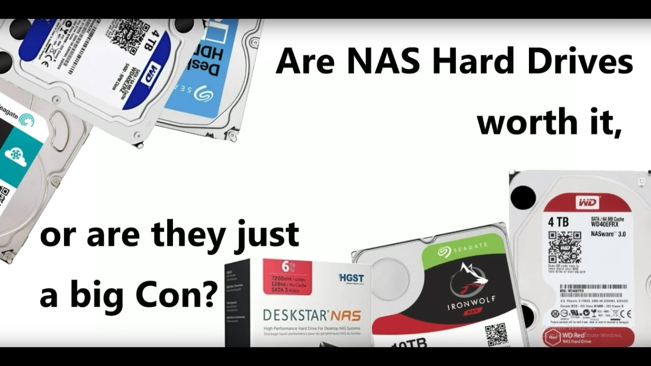 What is the Difference between NAS Hard-Drives and Standard