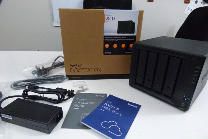 The Synology DS418 NAS versus DS416 - Standard 4-Bay NAS
