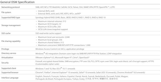 The Synology DS918+ 4-Bay Diskstation NAS Server – Specs And Details Revealed 3