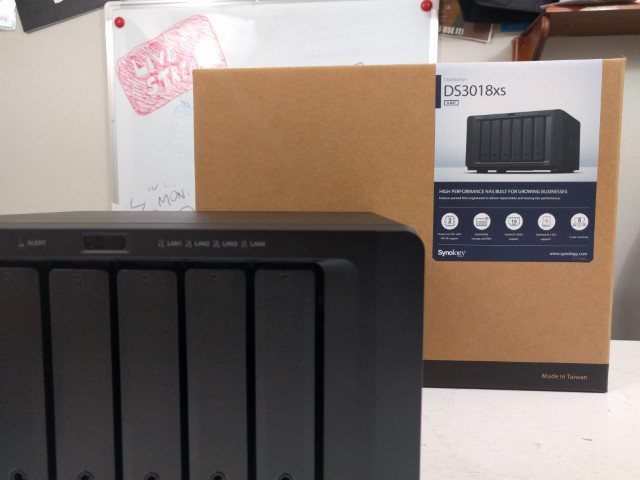 Unboxing the Synology DS3018xs 6-Bay Diskstation NAS Diskstation 12