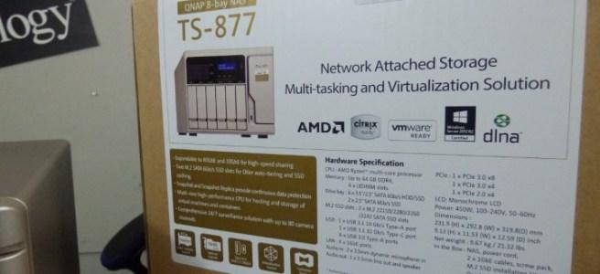 QNAP TS-877 NAS Review - NAS Compares