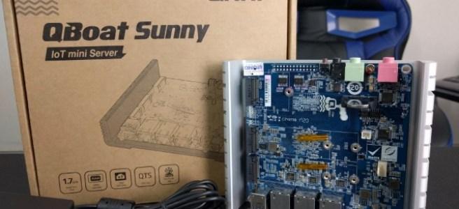 QNAP QBoat Sunny IoT Server Review - NAS Compares