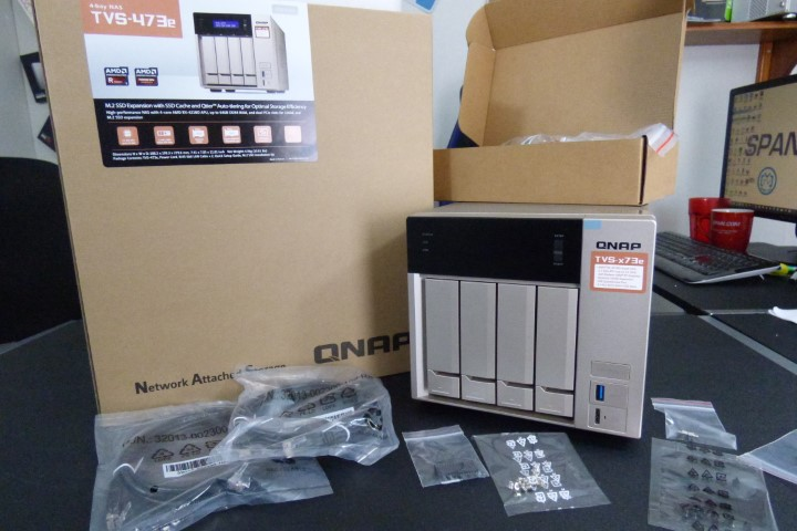 Unboxing the Powerful TVS-473e Featured QNAP NAS for 2018