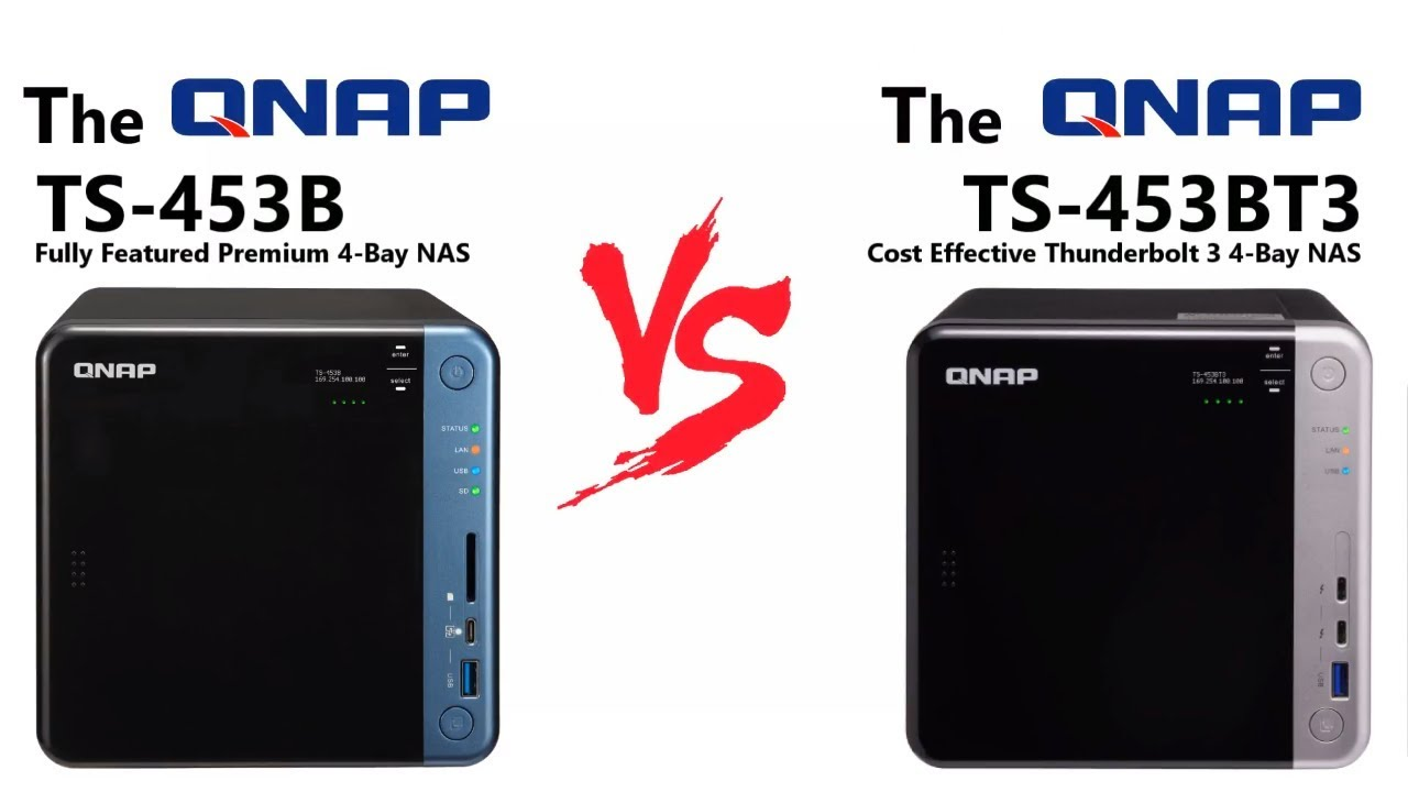 Qnap Ts 453b Vs 453bt3 What Are The Real Differences Nas Tvs 871 I3 4g Compares