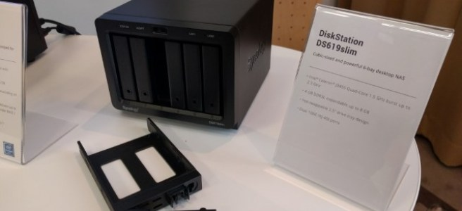 DS619slim NAS at the Synology Solution Exhibition Germany